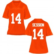 Game Women's Nick Session Oklahoma State Cowboys Orange Football College Jersey